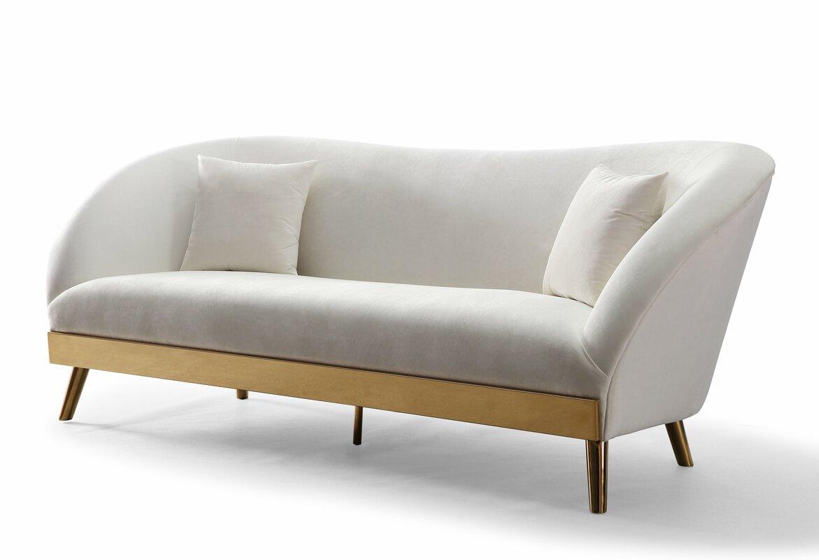 Valda Velvet Sofa