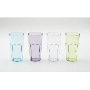 stackable tumblers set of 4