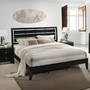 Gloria Wood Panel Bed by R..