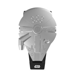Deluxe Millennium Falcon Waffle Maker by Pangea Brands Looking for