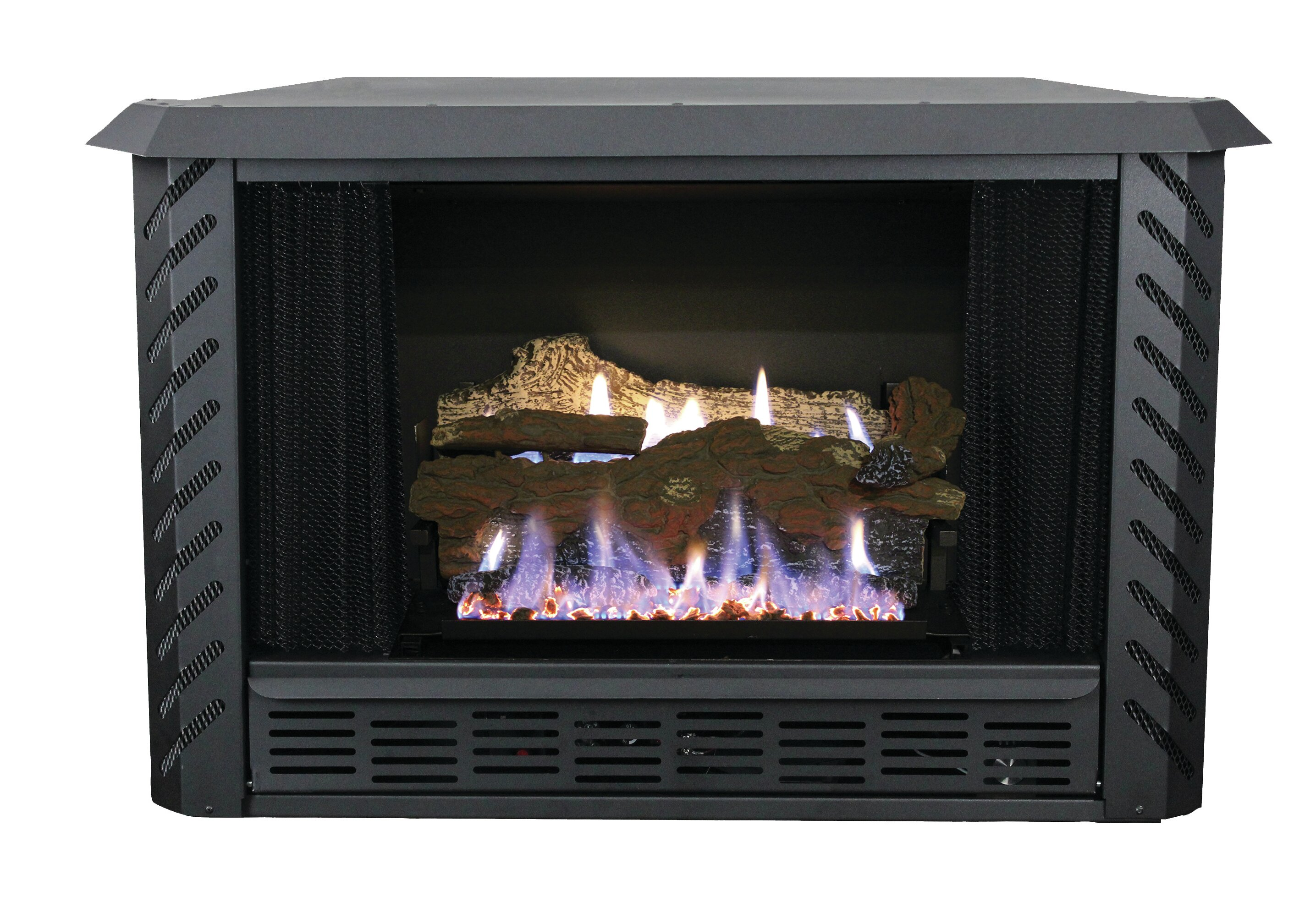 Ashley hearth vent free propane fireplace insert wayfair solutioingenieria