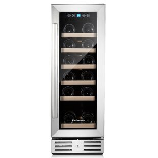 18 Bottle Single Zone Convertible Wine Cooler