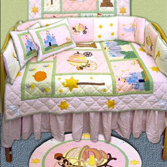 Fairy Tale Princess 9 Piece Crib Bedding Set