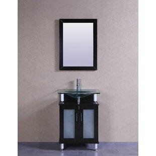 Signature Series 24 Single Modern Bathroom Vanity Set by Belvedere Bath