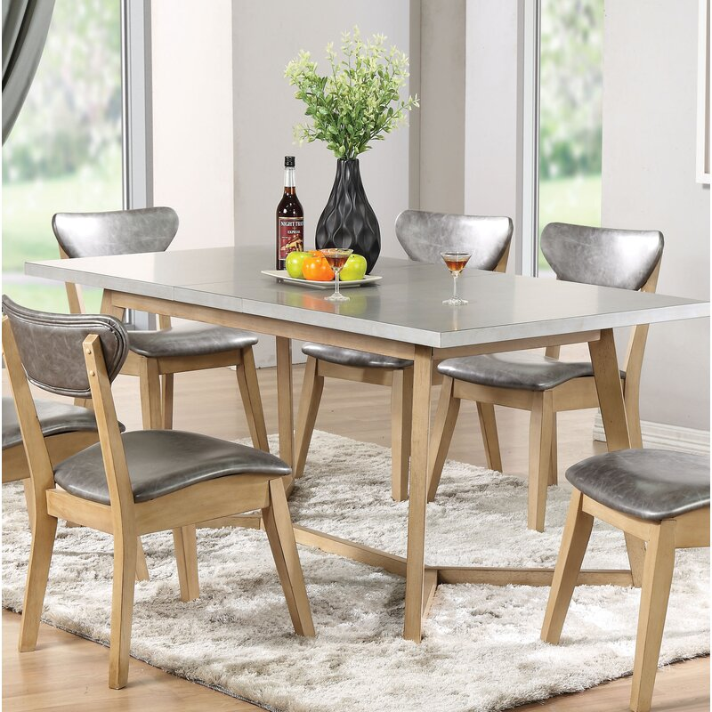 Langley Street Chesapeake Extendable Dining Table | Wayfair
