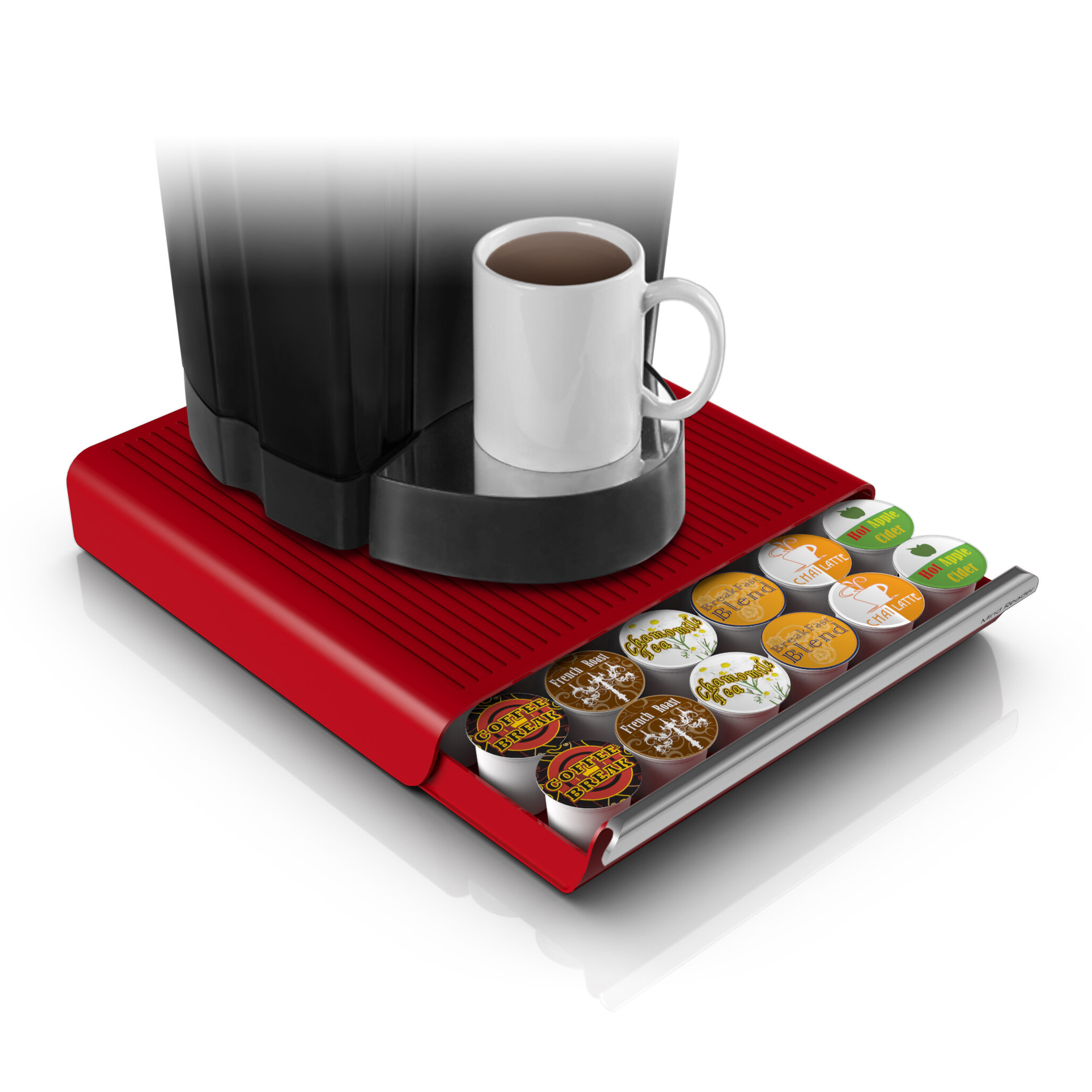 Beau Mind Reader Hero 36 Pod Drawer For Coffee Pod Storage U0026 Reviews | Wayfair
