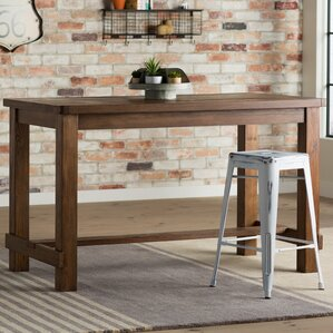Industrial Dining Room Table industrial kitchen & dining tables you'll love | wayfair
