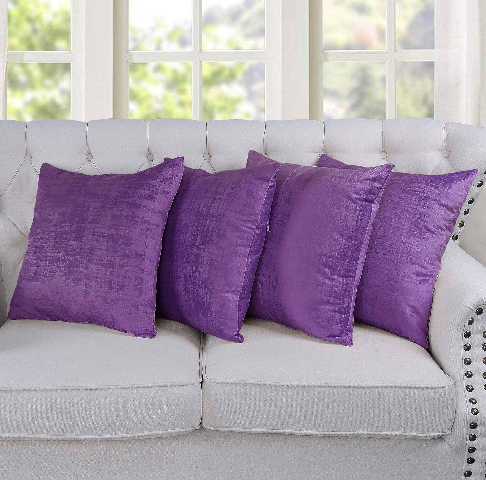Purple Throw Pillows Free Shipping Over 35 Wayfair