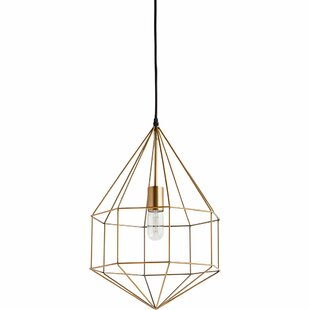 George Oliver Crampton 1-Light Geometric Pendant