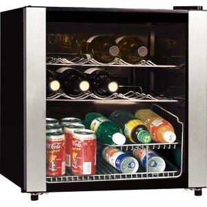 16 Bottle Midea Single Zone Freestanding Wine Cooler