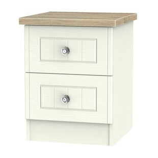 Zenfield 2 Drawer Bedside Table By 17 Stories