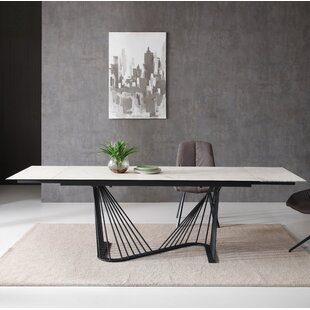 Imboden Extendable Dining Table Orren Ellis