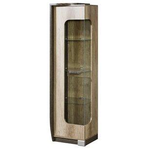 Taraji Glass Door Display Lighted China Cabinet by Orren Ellis