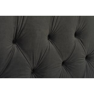 Jennifer Taylor David Tufted Wingback Upholstered Panel Bed