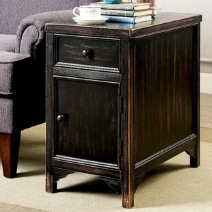 Piper Transitional End Table with Storage by Alcott Hill