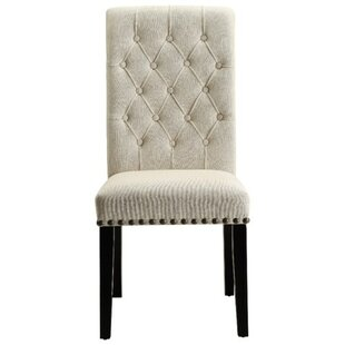 Look for Robson Upholstered Dining Chair (Set of 2) by Charlton Home Reviews (2019) & Buyer's Guide