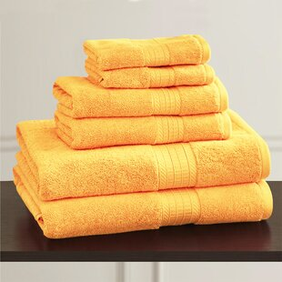 W Home 2 Piece Rayon from Bamboo Bath Towel Set (Set of 2)