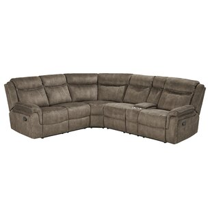 Price Check Hadenson Reclining Sectional by Charlton Home Reviews (2019) & Buyer's Guide