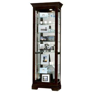 Brier Curio Cabinet by Darby Home Co