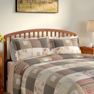 Helma Cotton Reversible Quilt Set by August Grove Sale