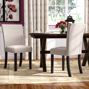 Claret Upholstered Dining Chair (Set Of 2) By Red Barrel Studio