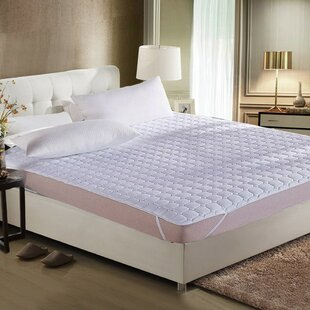 Alwyn Home Caspar Ultra Soft Quilted Hypoallergenic Mattress Cover