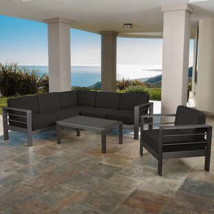 Crosstown 9 Piece Sectional Set With Cushions by Brayden Studio Purchase