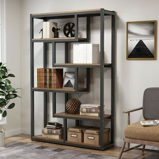 Peltier Geometric Bookcase by Williston Forge