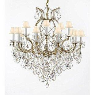 Astoria Grand Weidler 16-Light Fabric Sha..