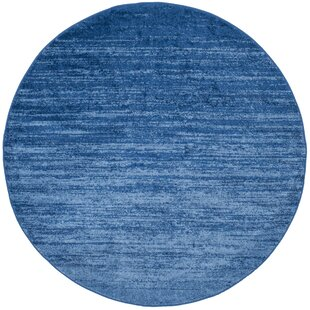 Lauren Blue Area Rug by Beachcrest Home