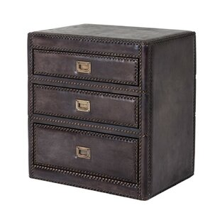 Price Check Marriot 3 Drawer Nightstand by Eichholtz