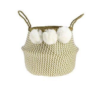 Seagrass Basket By Bay Isle Home