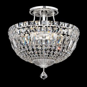 Petit Deluxe 6-Light Semi Flush Mount by Schonbek