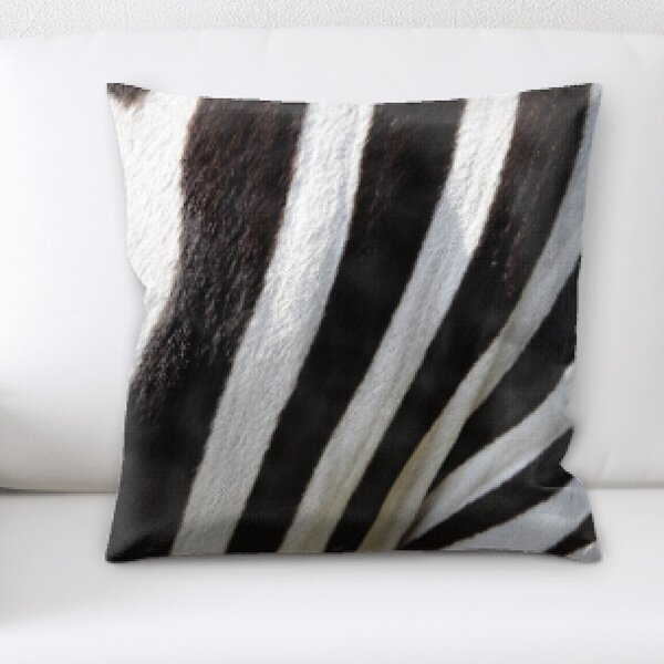 Zebra Skin Pillows Wayfair