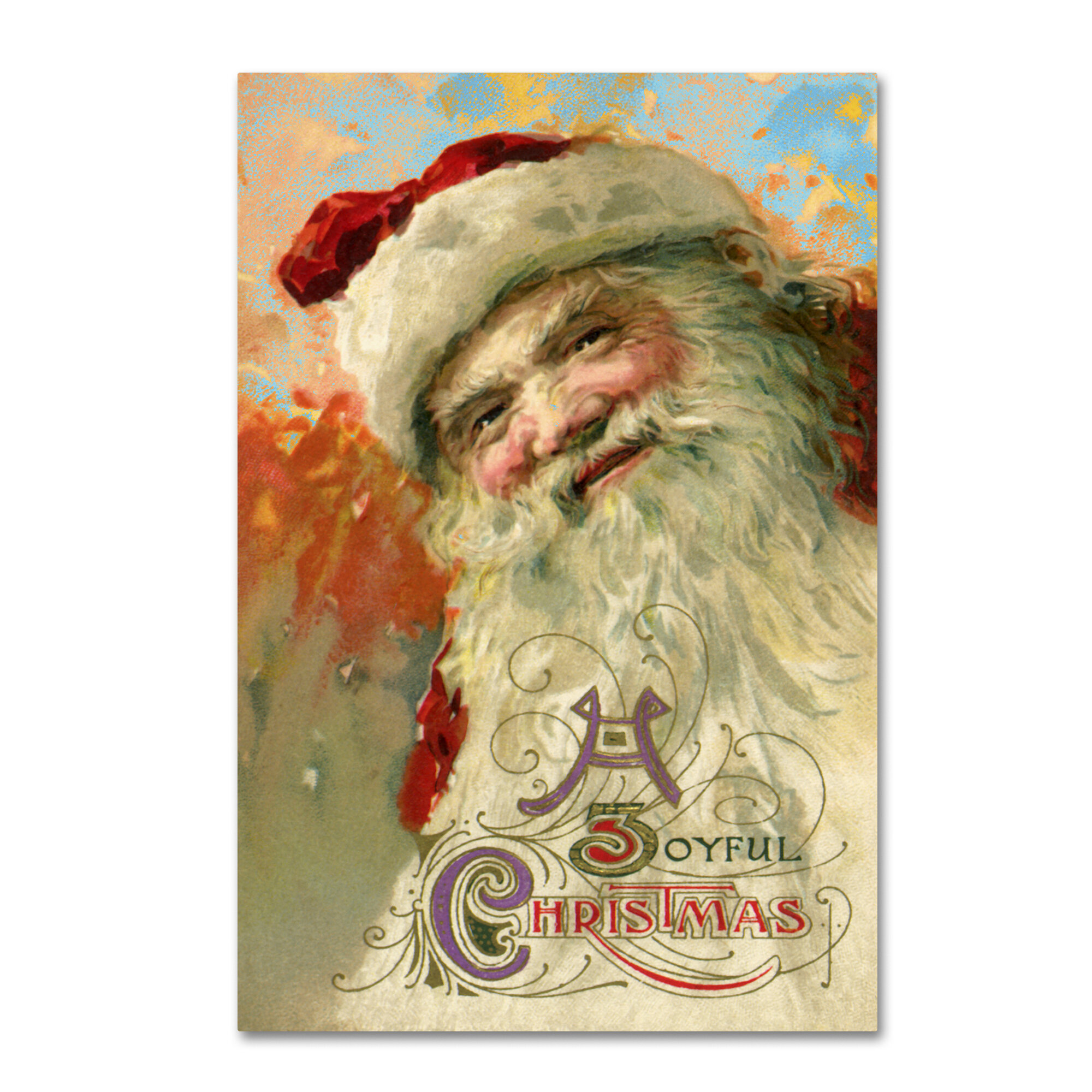 Fine Santa Face Wall Decor Collection - Wall Art Ideas - dochista.info