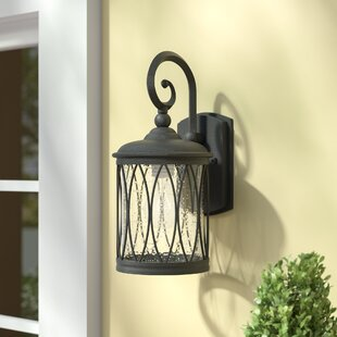 Three Posts Berghoff 1-Light Outdoor Wall Lantern