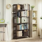 Jamelia 61 H x 31.5 W Solid Wood Etagere Bookcase by 17 Stories