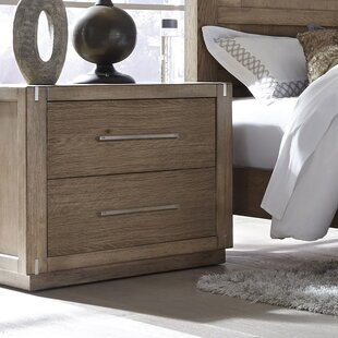 Foundry Select Dakota 2 Drawer Nightstand