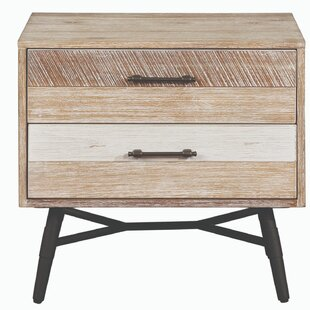 Nectar Wooden 2 Drawer Nightstand by Foundry Select