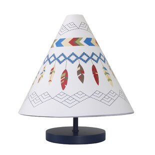 NoJo Tee Pee Table Lamp