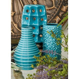 Nailsea Ceramic Vase Set (Set of 3)