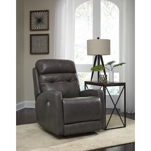 Bank Shot Leather Recliner
