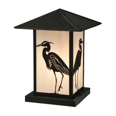 Seneca Heron 1-Light Pier Mount Light Meyda Tiffany