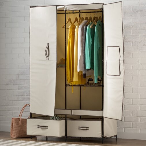 Wayfair Basics 43 in. W Wardrobe