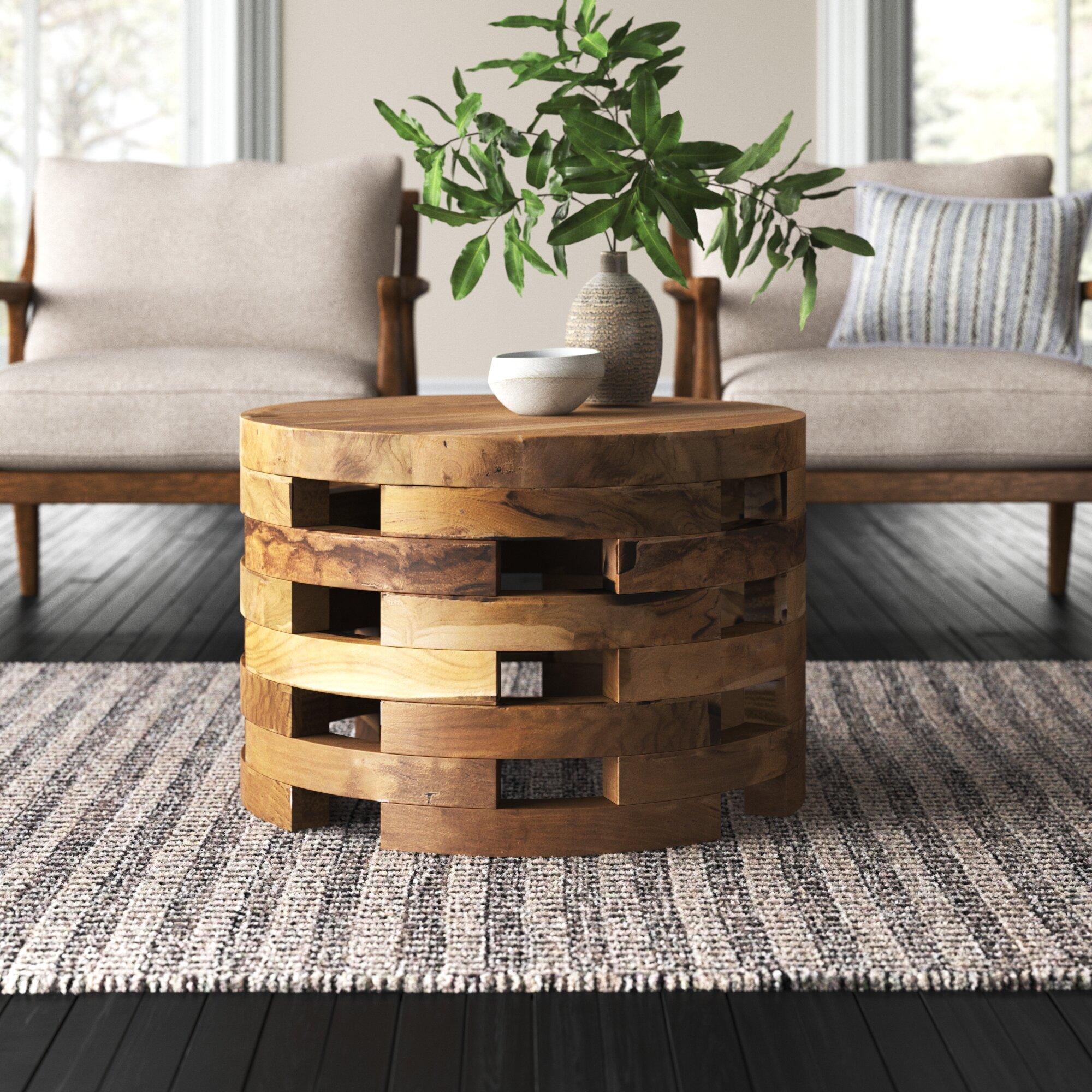 Solid Wood Coffee Tables Joss Main