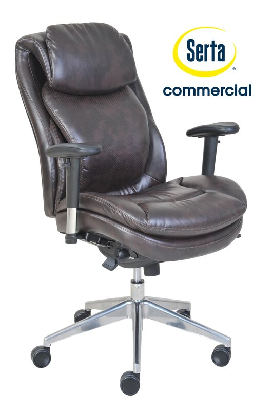 serta at home series desk chair & reviews | wayfair