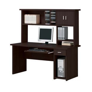 Pennsylvania Computer Desk With Hutch by Winston Porter 2019 Sale