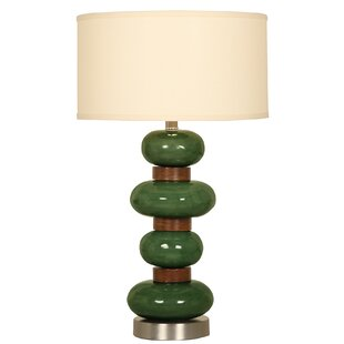 Look for Four Stone Stacked Ceramic 24 Table Lamp By Mario Industries