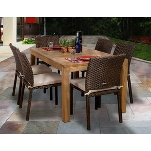Beachcrest Home Arango 7 Piece Dining Set