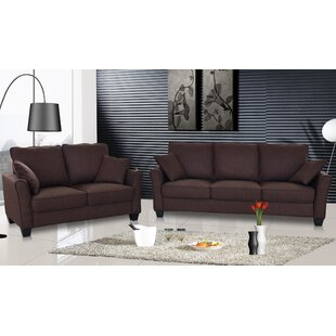 Talia 2 Piece Living Room Set by PDAE Inc.